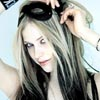 Avril Putting a Mask On