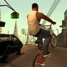 CJ On A Bike
