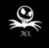Jack Skellington black and white