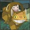 My Neighbor Totaro - cat car