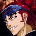 Renji looking cool