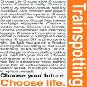 Trainspotting Manifesto