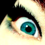 greeny blue eye